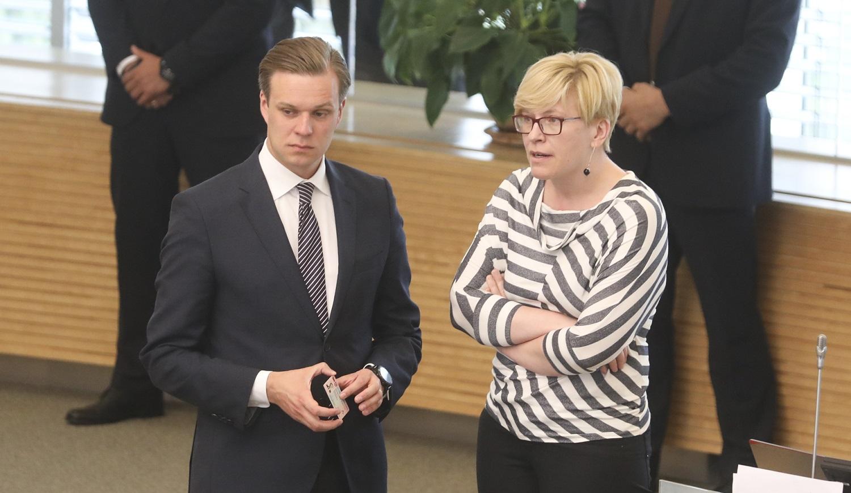VRK pasiekia skundai dėl neteisėtų politinių reklamų: apskųstos G. Landsbergio kabineto durys