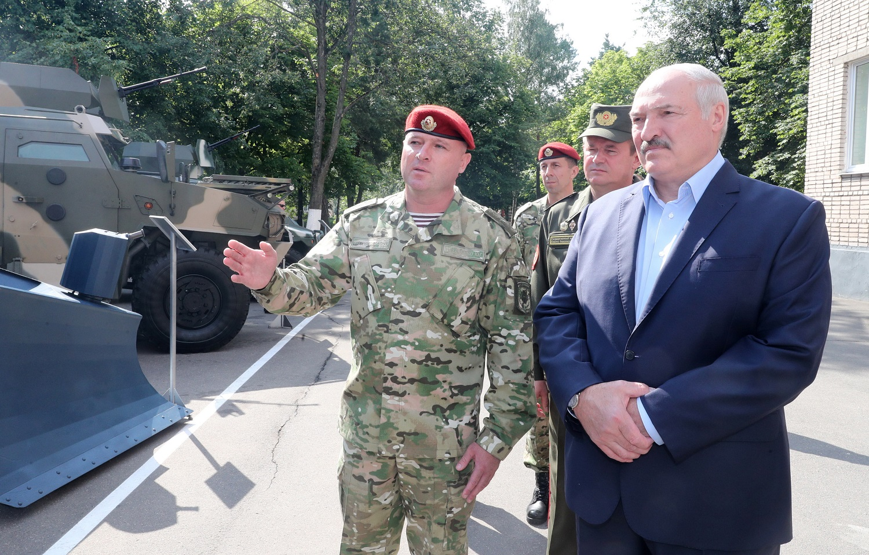 A. Lukašenka pažadėjo baltarusiams išsaugoti šalies nepriklausomybę
