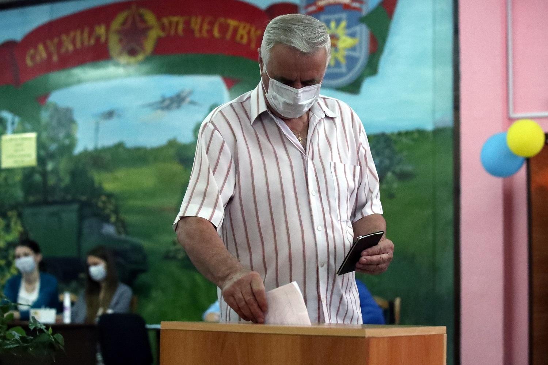 Baltarusijoje vyksta prezidento rinkimai