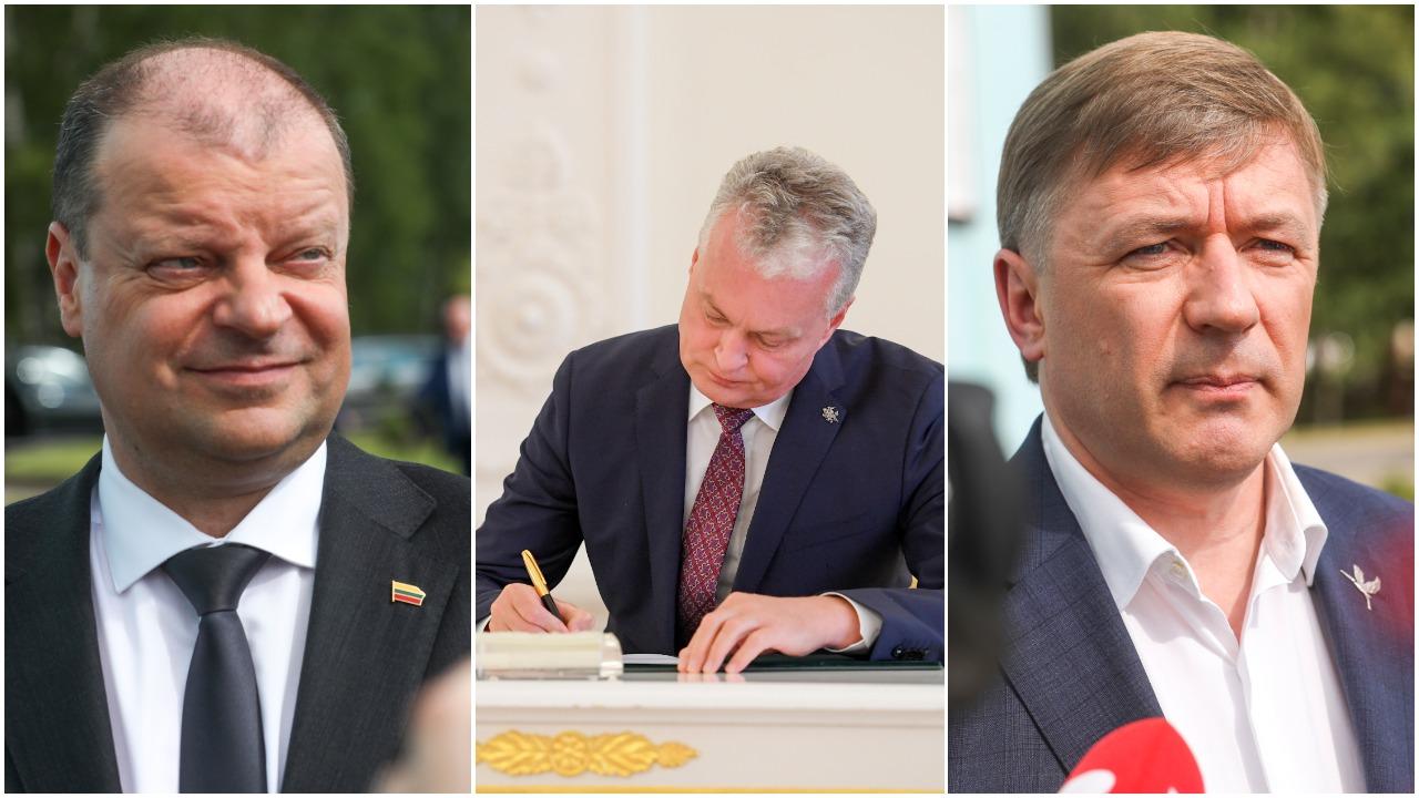 Lietuvos įtakingiausieji 2020: ekspertai S. Skvernelį pastatė į pirmą vietą, visuomenė – į antrą