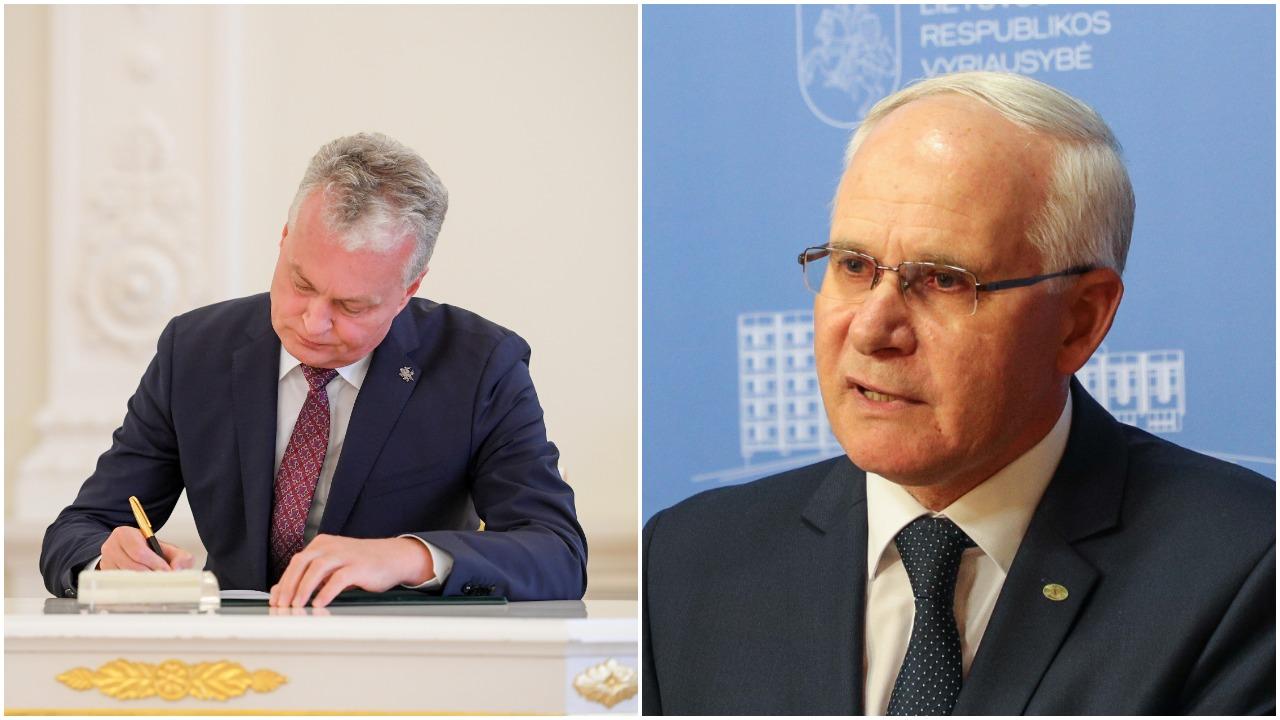 A. Monkevičius atsakė į G. Nausėdos kritiką: kokias reformas galima padaryti per 6 mėnesius