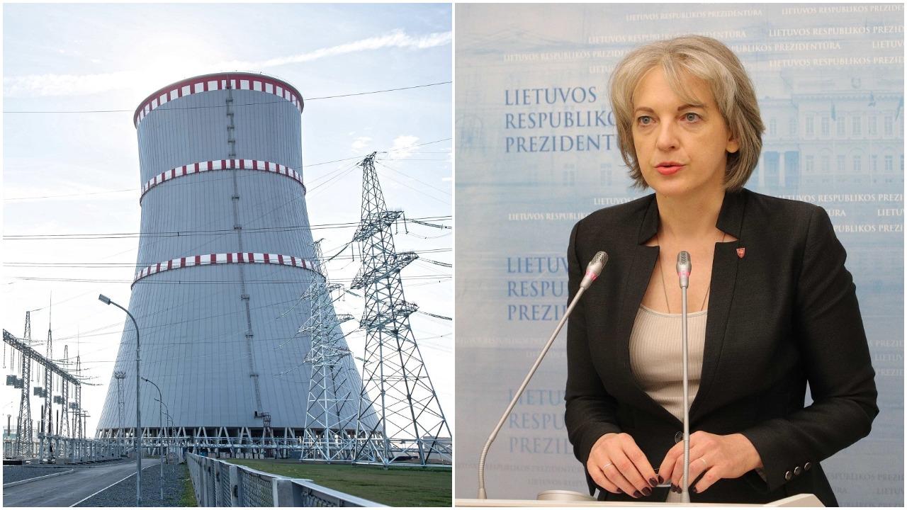 Prezidentūra: neturime įrodymų, kad Astravo AE saugumo reikalavimai buvo įgyvendinti