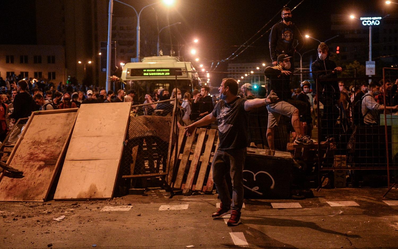 Per protestus Baltarusijoje prieš A. Lukašenką žuvo žmogus
