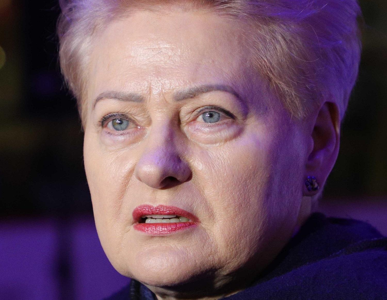 D. Grybauskaitė kreipėsi į A. Lukašenką: diktatoriau, tau nebėra vietos Baltarusijoje