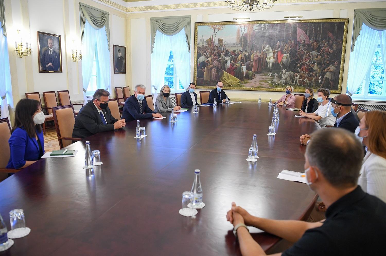 G. Nausėda: Baltarusijos žmonės gali kliautis Lietuvos parama