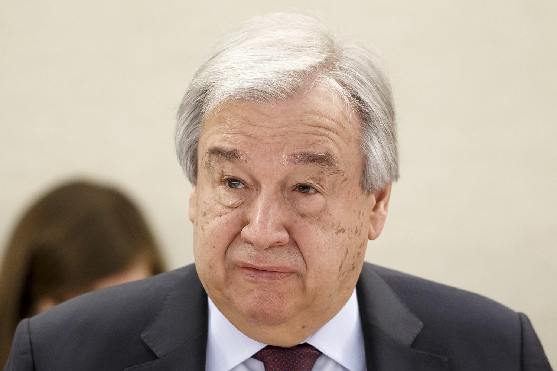 Jungtinių Tautų generalinis sekretorius: COVID-19 yra didžiausia grėsmė pasaulio saugumui
