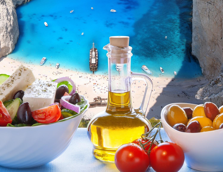Spalvinga Viduržemio jūros virtuvė