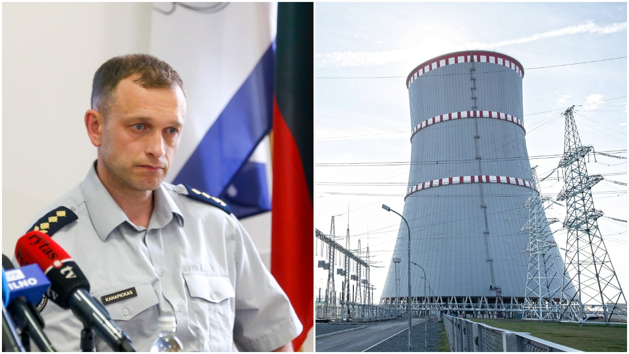 PAGD atstovas apie galimą branduolinį incidentą Astravo AE: turėtume dvi savaites