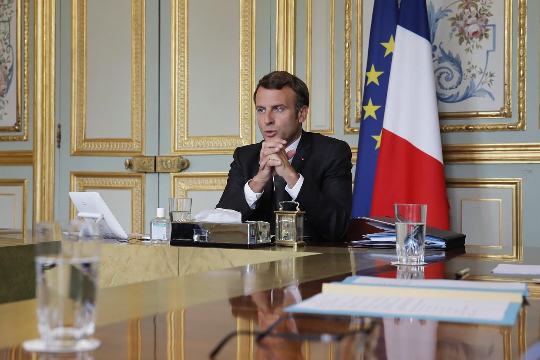 Lietuvoje lankysis Prancūzijos prezidentas E. Macronas su pirmąja ponia