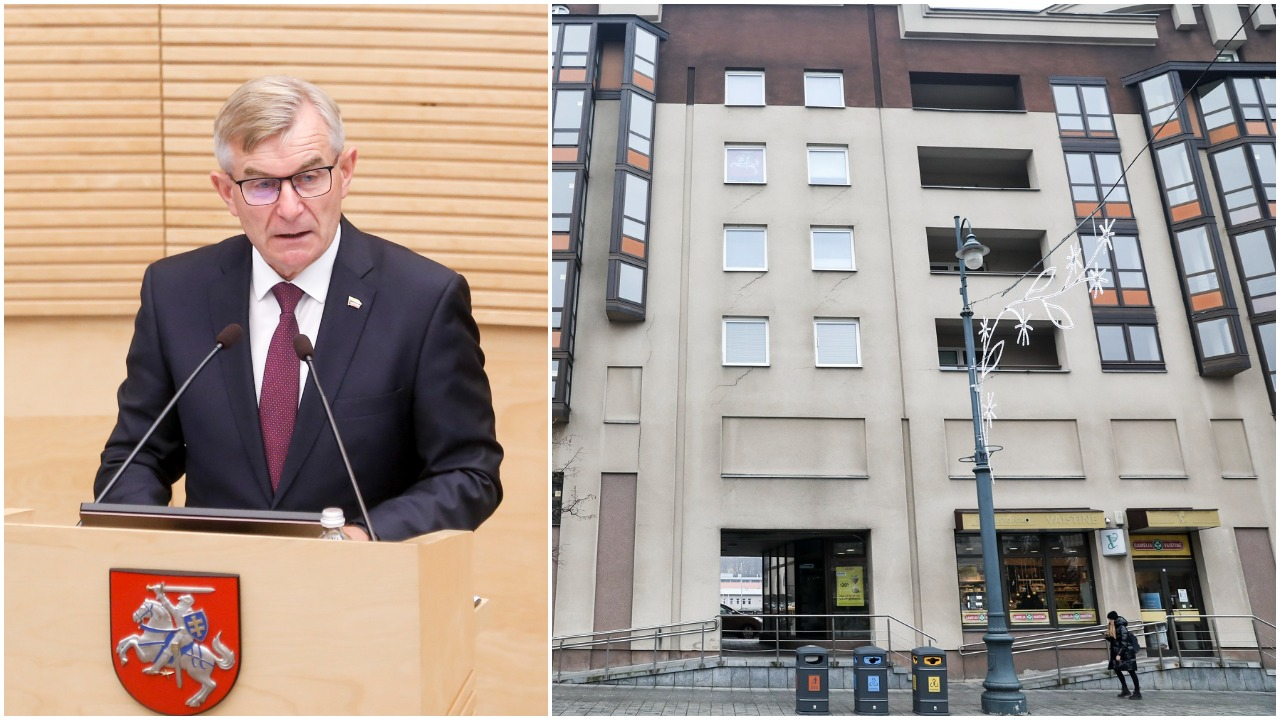 V. Pranckietis: jei būtų mano valia, Seimo viešbutį nugriaučiau