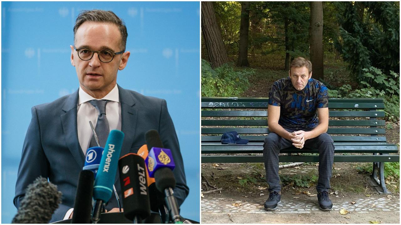Vokietijos URM vadovas sukritikavo Rusiją dėl A. Navalno apnuodijimo