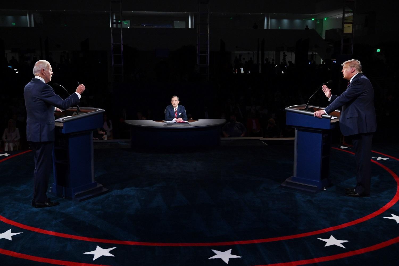 Pirmuosius D. Trumpo ir J. Bideno TV debatus stebėjo gerokai mažiau žiūrovų