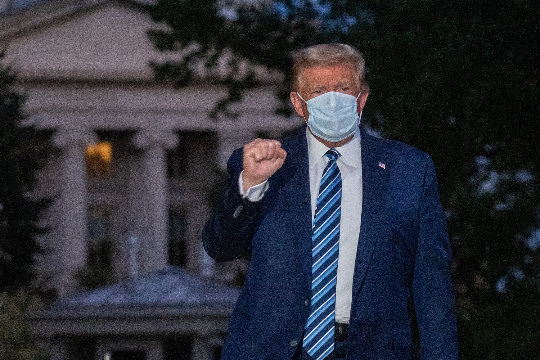 D. Trumpo gydytojas teigia, kad prezidentas baigė gydymo nuo Covid-19 kursą ir yra pasirengęs grįžti į viešąjį gyvenimą
