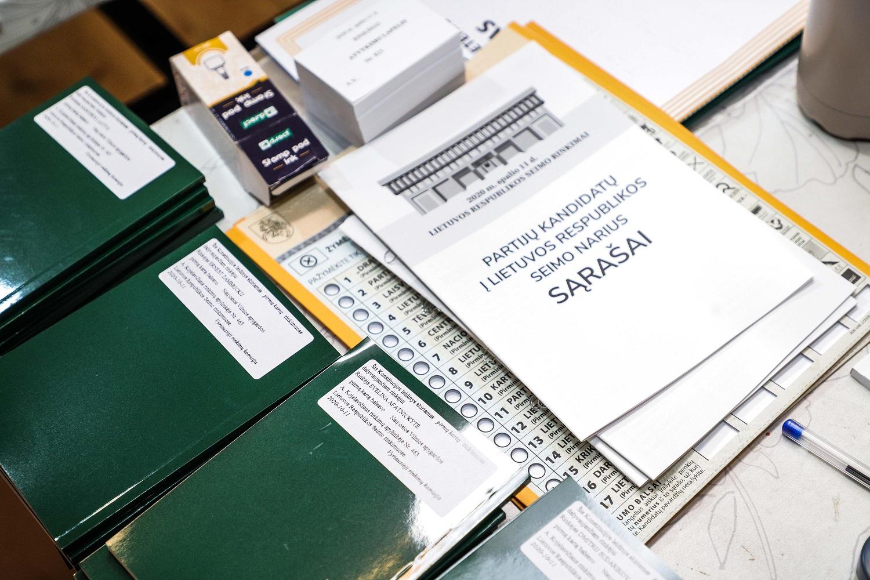 Jau pirmadienį įžanga į antrąjį Seimo rinkimų turą – išankstinis balsavimas