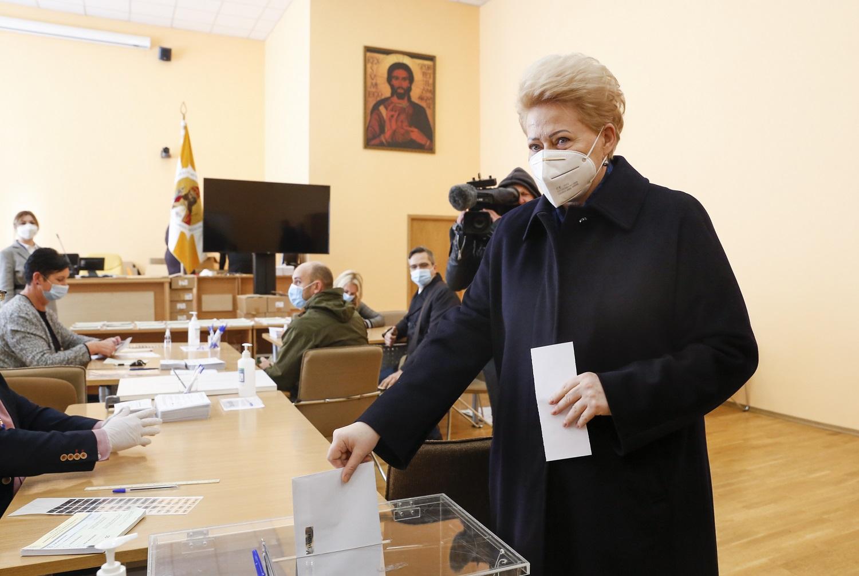 D. Grybauskaitė: nebalsavau už tuos, kurie liguistai ieško priešų