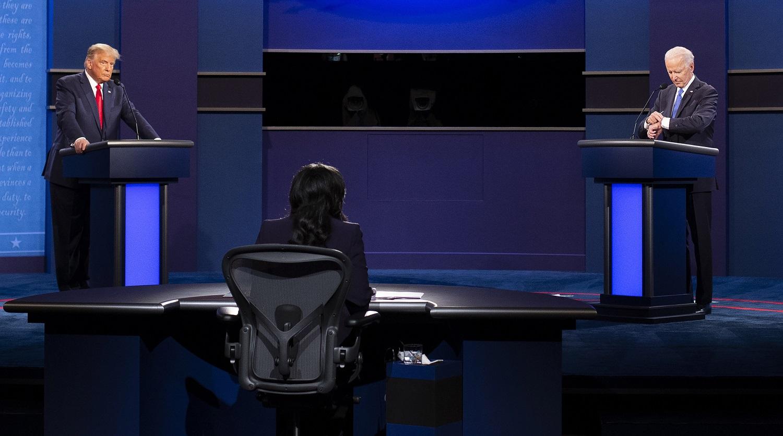 Paskutinieji JAV prezidentiniai debatai tarp D. Trumpo ir J. Bideno praėjo be nokauto