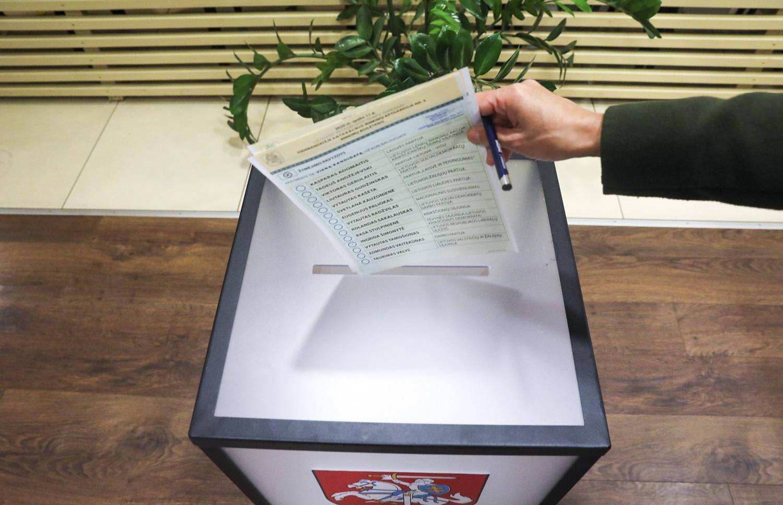 Rinkėjai galės balsuoti namuose
