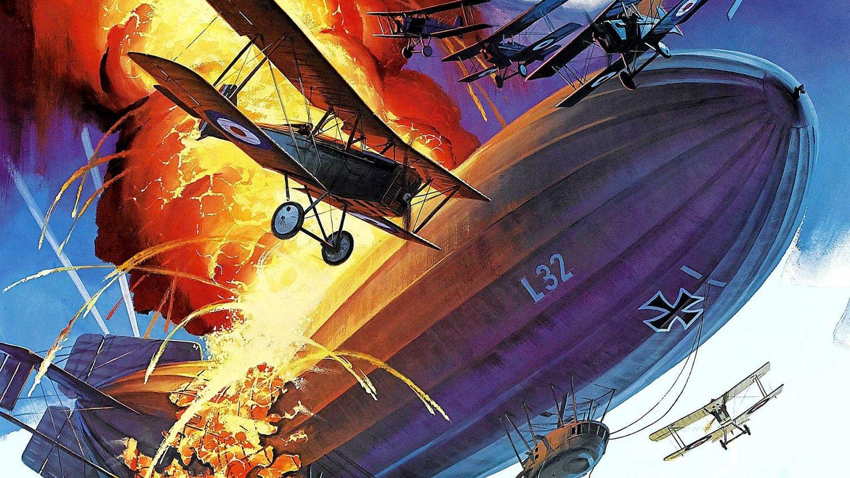 Dirižabliai naudoti ir keleiviams gabenti, ir miestams bombarduoti