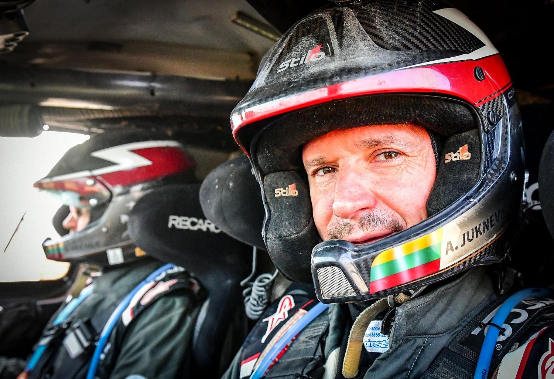 """Dakaro lenktynininkas A. Juknevičius: """"Namai nesibaigia ties tavo buto ar namo sienomis"""""""