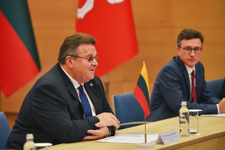 L. Linkevičius: nebeaišku, su kuo Baltarusijoje kalbėti dėl Astrave AE paleidimo