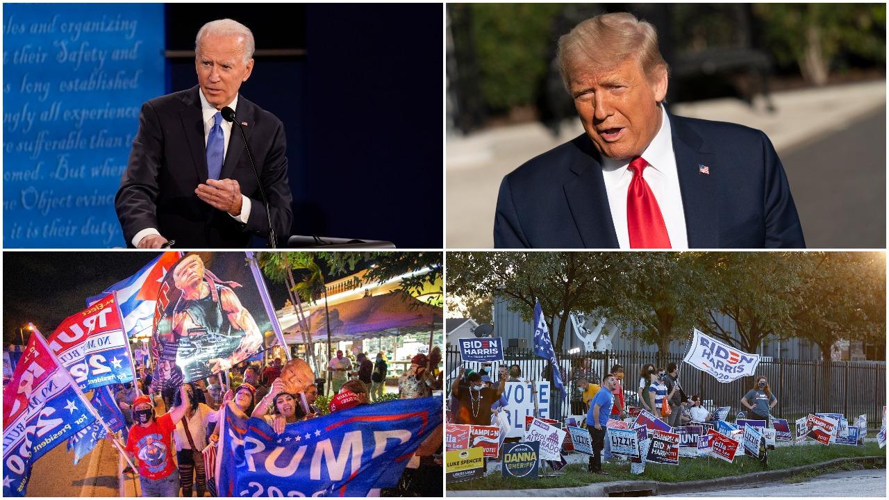 """JAV renka naują prezidentą: įtempta kova vyksta """"svyruojančiose"""" valstijose"""