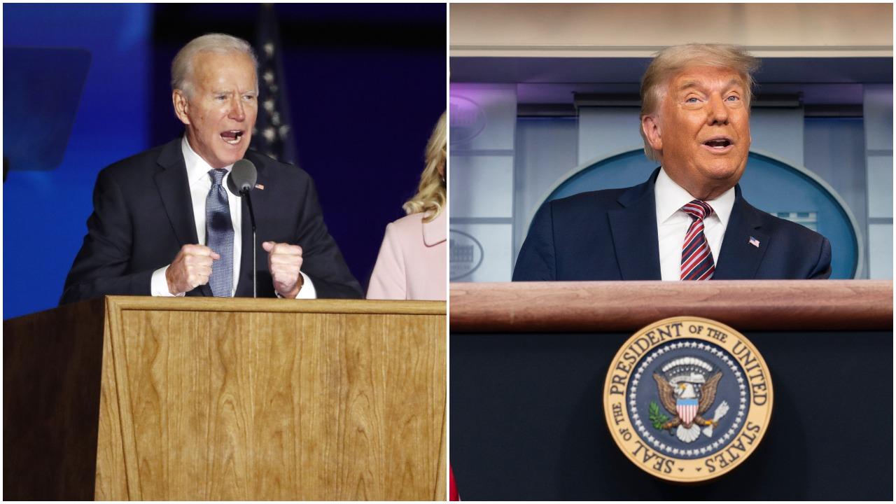 J. Bidenui artėjant prie pergalės rinkimuose, D. Trumpas pradėjo svaidytis nepagrįstais kaltinimais sukčiavimu