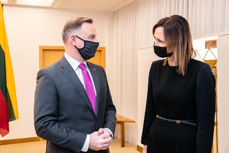 V. Čmilytė-Nielsen: šiek tiek jaučiasi prezidento parama Lenkijos pozicijai dėl abortų ir teisės viršenybės klausimų