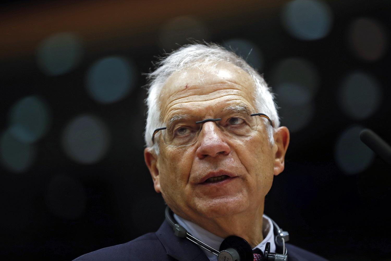 J. Borrellis: ES nebeskirs nė vieno euro A. Lukašenkos vyriausybei