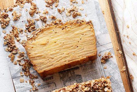 Sveika ir skanu – sluoksniuotas obuolių pyragas (video)
