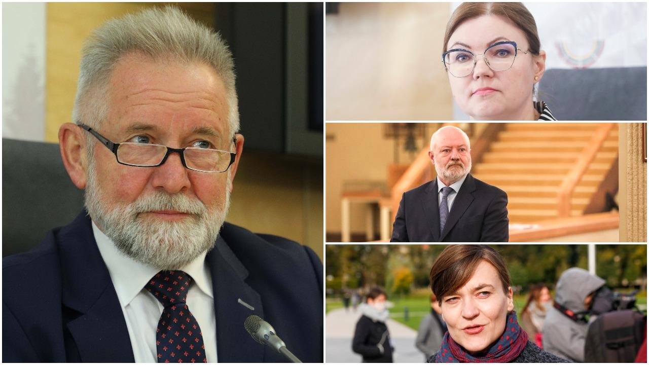 Įsimintinus 2020-ųjų įvykius apžvelgė politikai: išskyrė pandemiją, Seimo rinkimus, J. Narkevičiaus istoriją