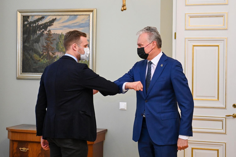 G. Landsbergis: visuomenėje gali susidaryti lūkestis, kad prezidentas dirbtų Vyriausybei priklausančiame lauke