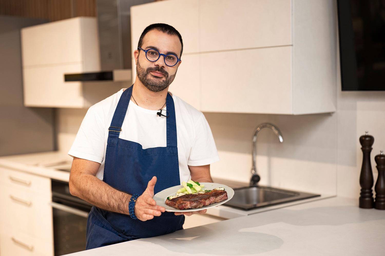 Šefas Gian Luca Demarco atskleidė tobulo kepsnio paslaptis: išbandykite savo virtuvėje