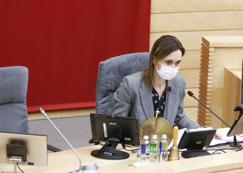V. Čmilytė-Nielsen: A. Guogos sprendimai parodė, kad politikoje jam – ne vieta