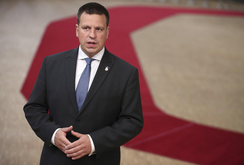 Atsistatydino Estijos premjeras J. Ratas
