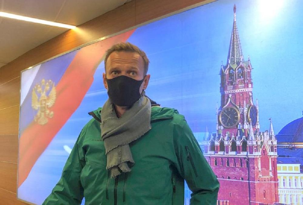 G. Nausėda ir G. Landsbergis griežtai įvertino A. Navalno sulaikymą: negalima to toleruoti
