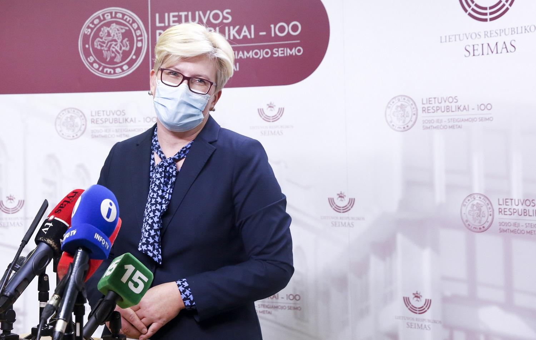 I. Šimonytė: Energetikos ministerija svarsto galimybes, kaip užkirsti kelią elektros iš Astravo AE patekimui į Lietuvą