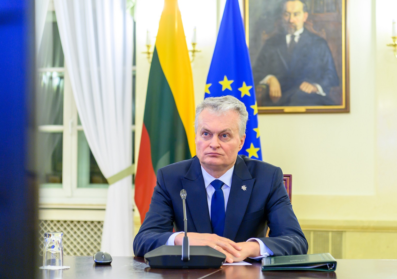 G.Nausėda: būtina reikšmingai padidinti vakcinų tiekimą ES šalims narėms