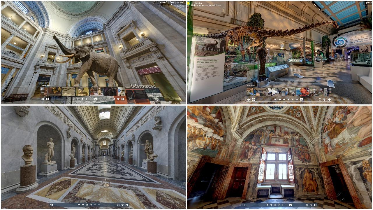 Išsiilgusiems kelionių ir parodų – virtualūs turai po žymiausias pasaulio vietas