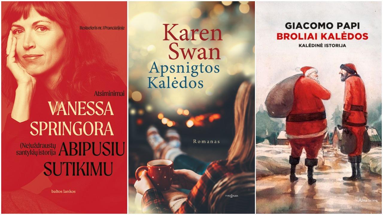 3 knygos jaukiems vakarams