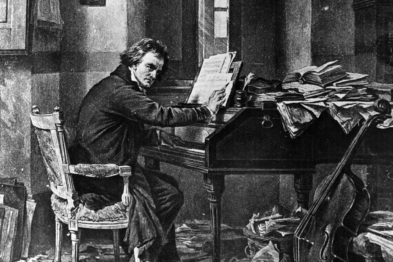 L. van Bethovenui kurti muziką nesutrukdė netgi kurtumas