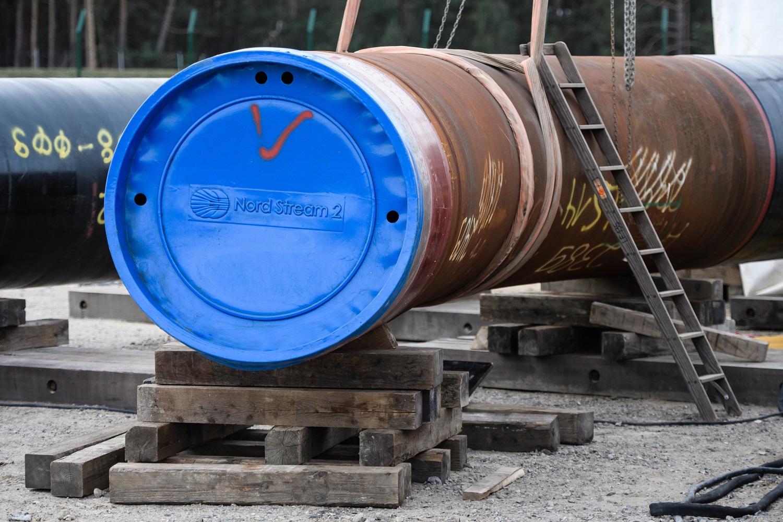 """Aistros dėl """"Nord Stream 2"""" projekto stabdymo: JAV mato pažangą, kritikai reikalauja dar griežtesnių veiksmų"""