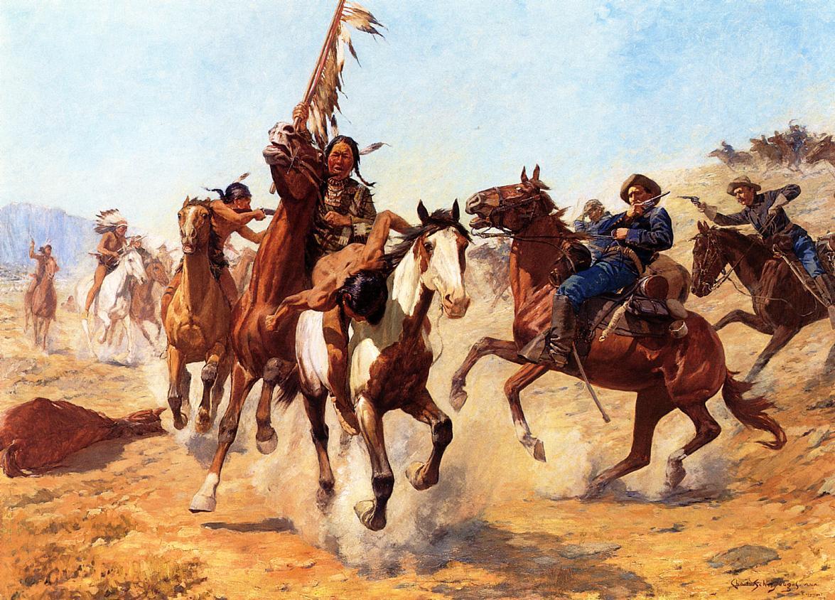 Didieji indėnų vadai nuožmiai kovojo su kolonizatoriais