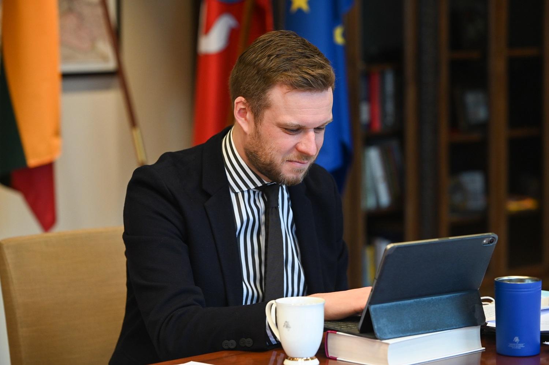 """G. Landsbergis prašo kantrybės: """"Situacija yra stipriai trapi"""""""