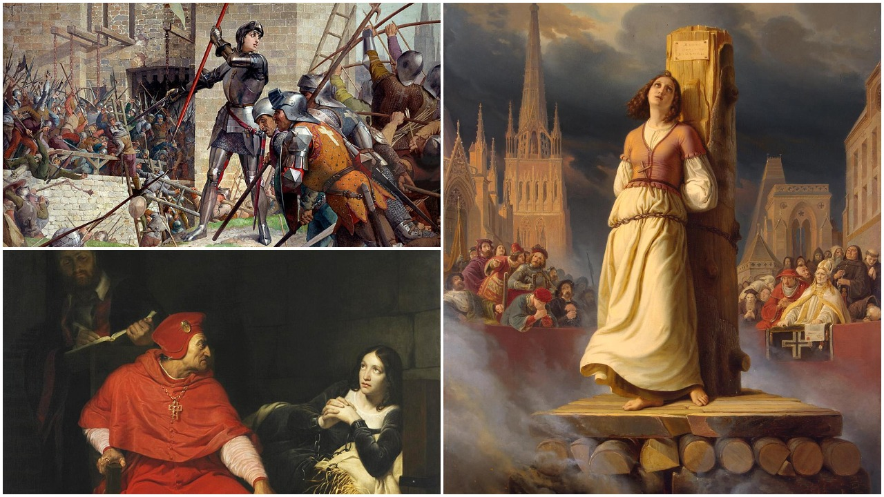 Dėl erezijų sudeginta Žana d'Ark tapo katalikų šventąja