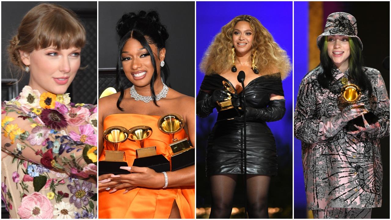 """""""Grammy"""" muzikos apdovanojimuose net keturias statulėles pelnė Beyonce"""