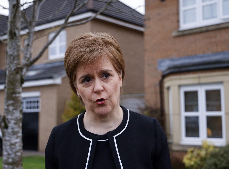 Škotijos lyderė žada dar vieną referendumą dėl nepriklausomybės