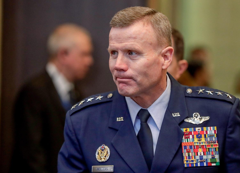JAV pajėgų Europoje vadas: Rusijos įsiveržimo į Ukrainą tikimybė nėra didelė