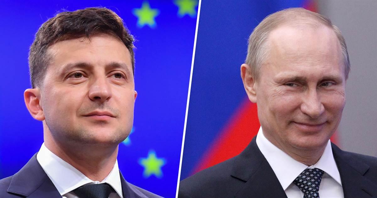 V. Zelenskis paragino V. Putiną susitikti karo draskomuose Ukrainos rytuose