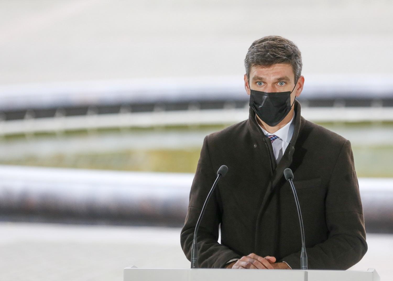 S. Krėpšta: esame netoli esminio lūžio suvaldant pandemiją