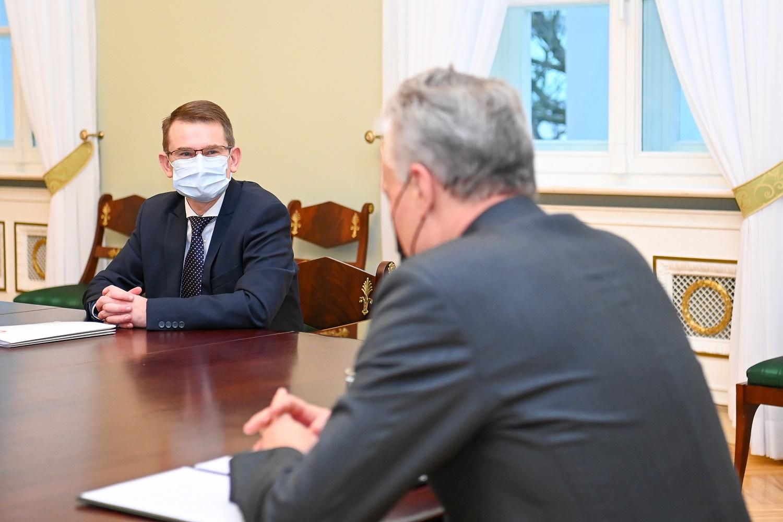 """A. Dulkys pozityviai žiūri į galimybę atkurti Baltijos šalių """"kelionių burbulą"""""""